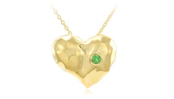 Herzkette aus Gold