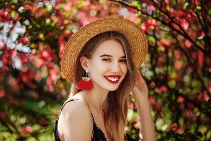 Tassel-Ohrringe für den Herbst