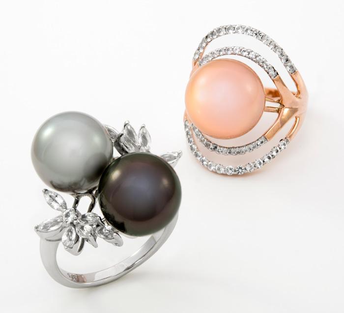 Silberschmuck mit Perlen und Edelsteinen besser nicth mit dieser Methode reinigen