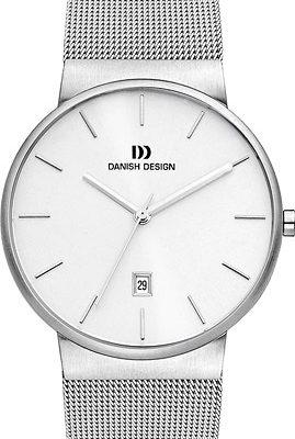 Danish Design Armbanduhr Herren Edelstahl Metallband