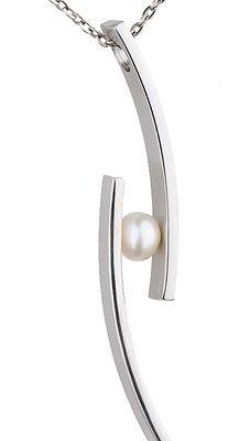 Ernstes Design Anhänger, Süßwasser -Perle