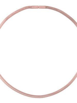 Ernstes Design Strickkette, 4 mm, Rotgold beschichtet, 50 cm