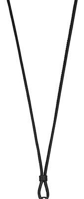 Esprit Kette Charm-Öse 925 Silber Soft Leather Black