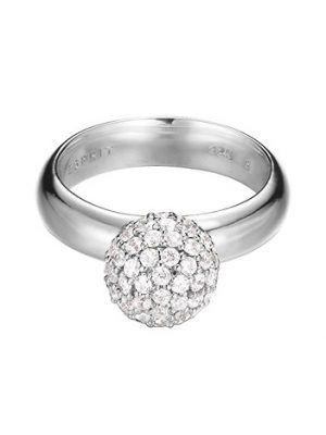 Esprit Ring 925 Silber Glam sphere Zirkonia, 53 - 16,9