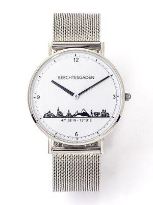 Goettgen Armbanduhr Berchtesgaden Herren Milanaiseband silber