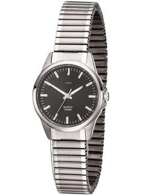 JOBO Damen Armbanduhr Quarz Analog Titan Flexband Damenuhr