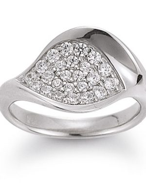 Laura Coon Ring 925 Silber Zirkonia, 50 / 15,9