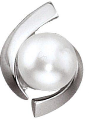 SIGO Anhänger 333 Gold Weißgold 1 Süßwasser Perle Perlenanhänger