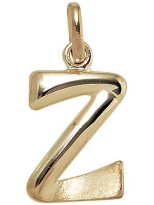 SIGO Anhänger Buchstabe Z 375 Gold Gelbgold Buchstabenanhänger