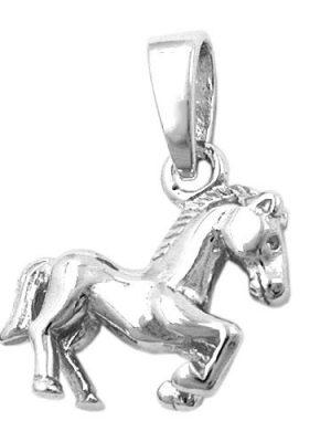 SIGO Anhänger, Pferd, rhodiniert Silber 925