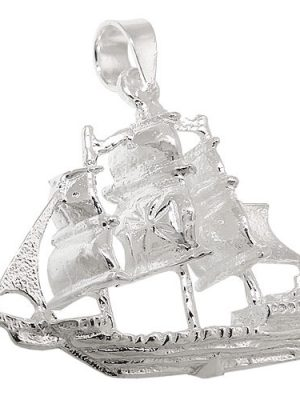 SIGO Anhänger, Schiff, Silber 925