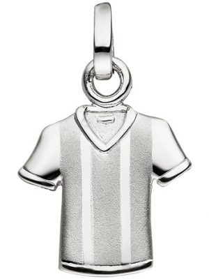 SIGO Anhänger Trikot 925 Sterling Silber matt mattiert Silberanhänger