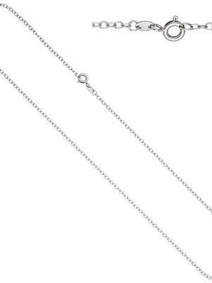 SIGO Ankerkette weit 585 Gold Weißgold 2,0 mm 50 cm Kette Halskette Weißgoldkette