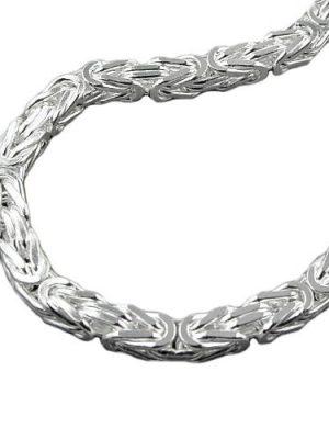 SIGO Armband, 6mm Königskette, Silber 925
