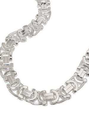 SIGO Armband, 6x2mm Königskette, Silber 925