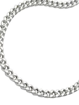 SIGO Armband, Panzerkette flach, Silber 925