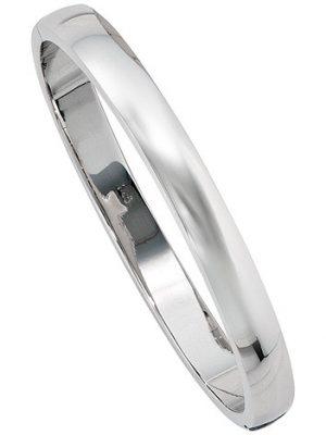 SIGO Armreif Armband oval 925 Sterling Silber Silberarmreif Kastenschloss