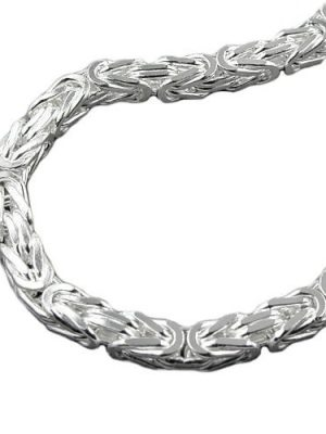 SIGO Kette, 8mm Königskette, Silber 925