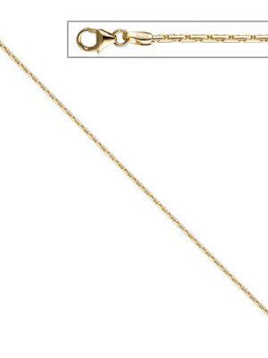 SIGO Kobrakette oval 333 Gelbgold 1,7 mm 50 cm Gold Kette Halskette Goldkette