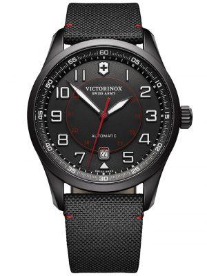 AirBoss Mechanical Black Edition Herrenuhr Victorinox Schwarz