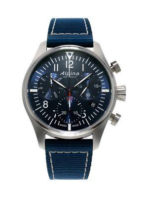 Alpina Chronograph Startimer Pilot Quartz AL-371NN4S6