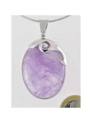 Amethyst Schmuck Edelstein Anhänger 925 Silber 1001 Diamonds violett