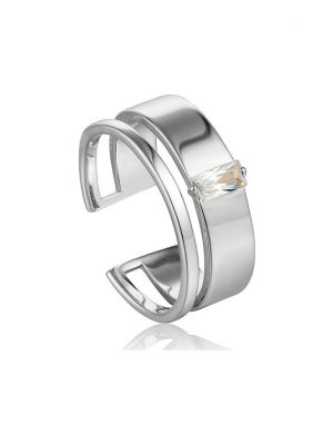Ania Haie Damenring Gloe Wide Adjustable Ring R018-02H