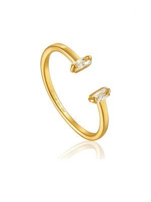 Ania Haie Damenring Glow Adjustable Ring R018-04G