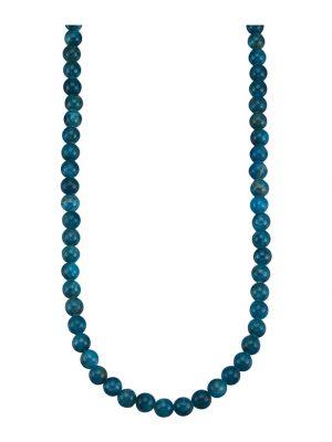 Apatit-Kette Diemer Farbstein Blau