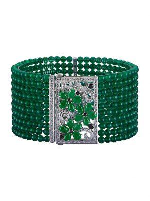 Armband Diemer Highlights Grün