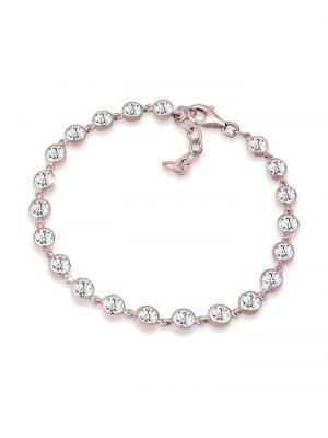 Armband Swarovski® Kristalle 925 Sterling Silber Elli Premium Rosegold