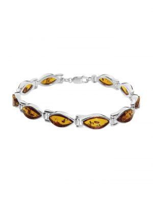 Armband Tordis Silber 925/000 Bernstein OSTSEE-SCHMUCK silber
