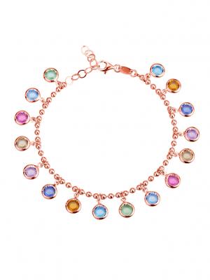 Armband mit Swarovski-Kristallen AMY VERMONT Multicolor