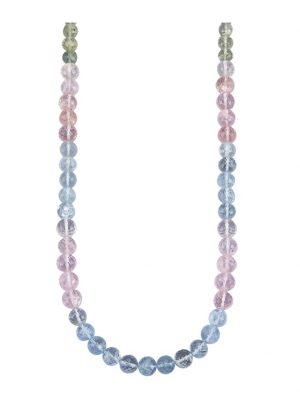 Beryll-Kette Diemer Farbstein Multicolor