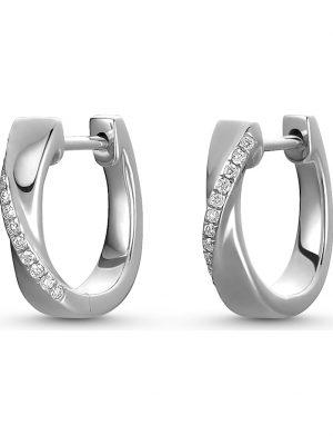 CHRIST Diamonds Damen-Creolen 24 Diamant CHRIST Diamonds weißgold