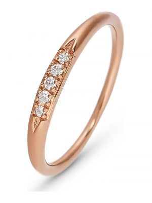 CHRIST Diamonds Damen-Damenring 5 Diamant CHRIST Diamonds roségold