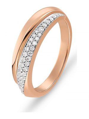 CHRIST Diamonds Damen-Damenring 585er Roségold 40 Diamant CHRIST Diamonds Roségold