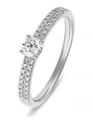 CHRIST Diamonds Damen-Damenring 585er Weißgold 1 Diamant CHRIST Diamonds weißgold