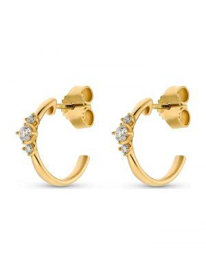 CHRIST Diamonds Damen-Ohrstecker 2 Diamant CHRIST Diamonds gelbgold
