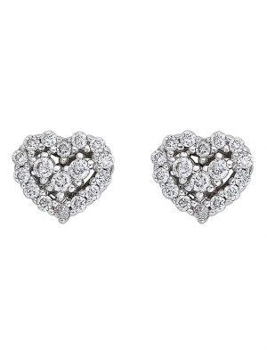 CHRIST Diamonds Damen-Ohrstecker 585er Weißgold 34 Brillanten CHRIST Diamonds weißgold