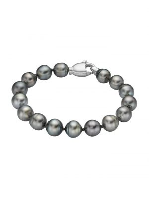CHRIST Pearls Damen-Armband 925er Silber Tahiti CHRIST Pearls perlmutt