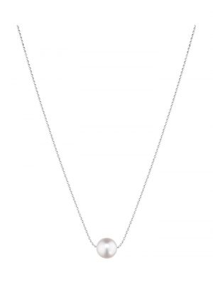 CHRIST Pearls Damen-Kette 585er Weißgold 1 Akoya CHRIST Pearls perlmutt