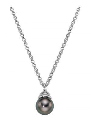 CHRIST Pearls Damen-Kette 925er Silber 1 Tahiti CHRIST Pearls perlmutt
