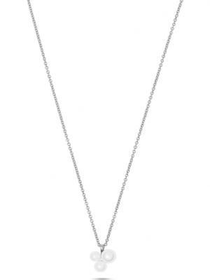 CHRIST Pearls Damen-Kette 925er Silber Süßwasser CHRIST Pearls silber