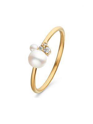 CHRIST Pearls Damenring 87993841