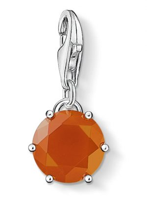 Charm mit Monatsstein Thomas Sabo Orange
