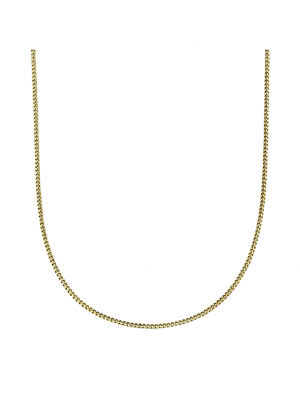 Collierkette 585/- Gold 36/38 cm Glänzend Fascination by Ellen K. gelb