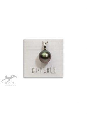 Damen Perlenschmuck 925 Silber Tahiti Perlen Anhänger DI PERLE silber
