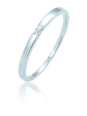Diamore Ring Verlobungsring Diamant (0.02 ct.) 585 Weißgold Diamore Weiß