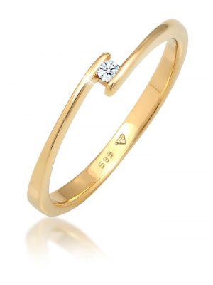 Diamore Ring Verlobungsring Diamant (0.03 ct.) 585 Gelbgold Diamore Gold